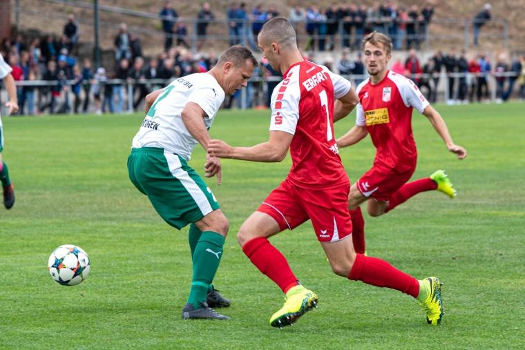 2. Pokalrunde Wacker Teistungen - Rot-Weiß Erfurt