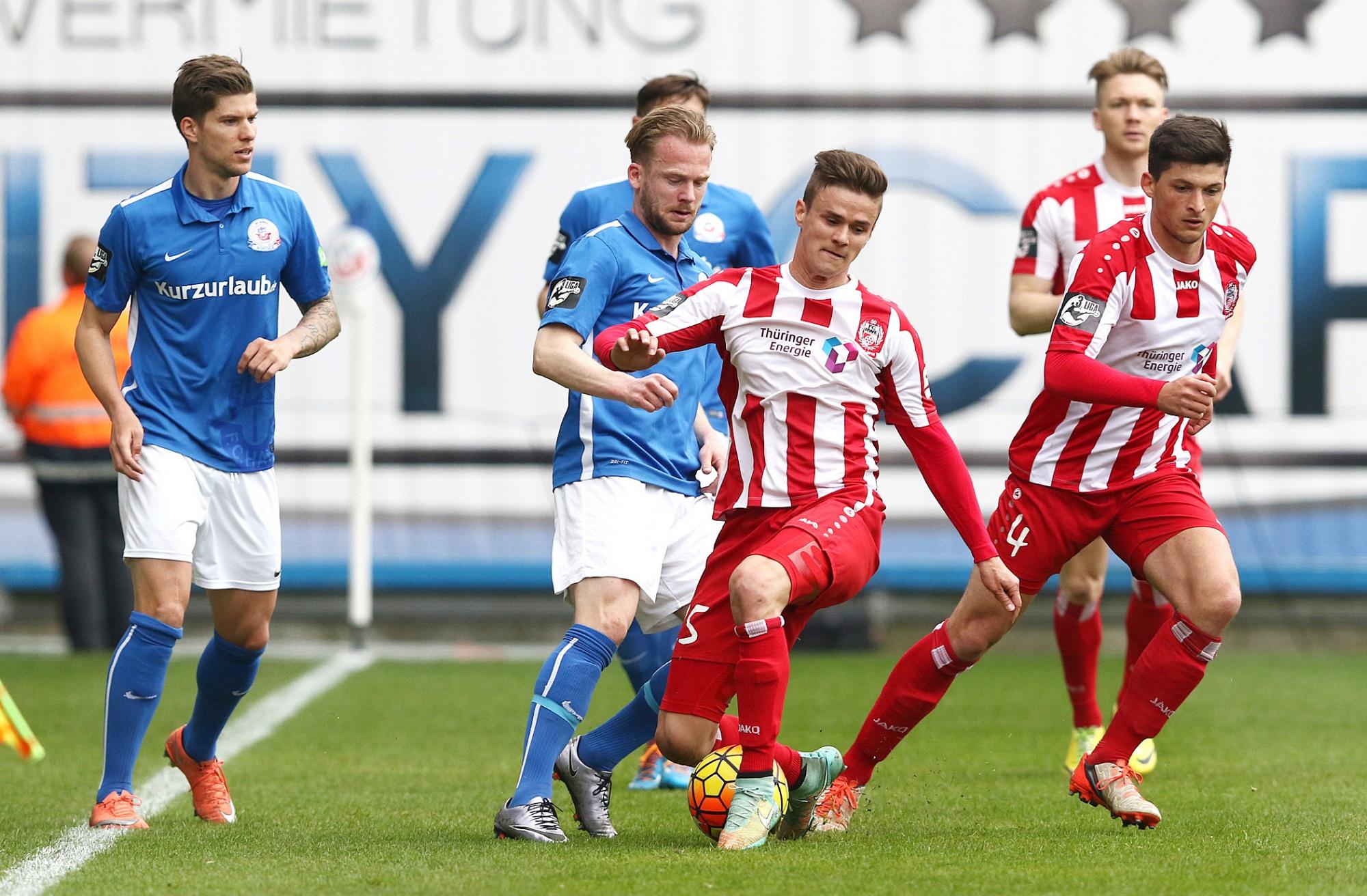 Spielbericht Rostock 01