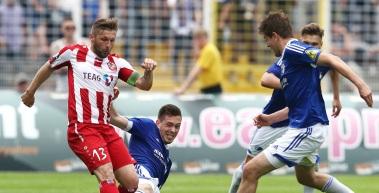 Das Tor zum DFB-Pokal bleibt für den RWE auch im 7. Jahr  vernagelt
