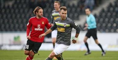 Saison 2017/18, 16. Sptg. SG Sonnenhof Großsaspach vs. FC Rot-Weiß Erfurt
