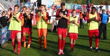 Knappe Niederlage im Pokal gegen Wacker Nordhausen