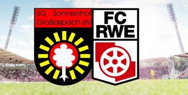 Informationen zum Auswärtsspiel bei der SG Sonnenhof Großaspach