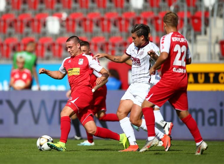 9. Spieltag RWE - BFC Dynamo