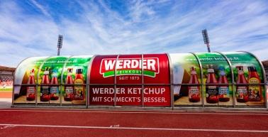 WERDER Feinkost GmbH erhöht Sponsoring und Laufzeit