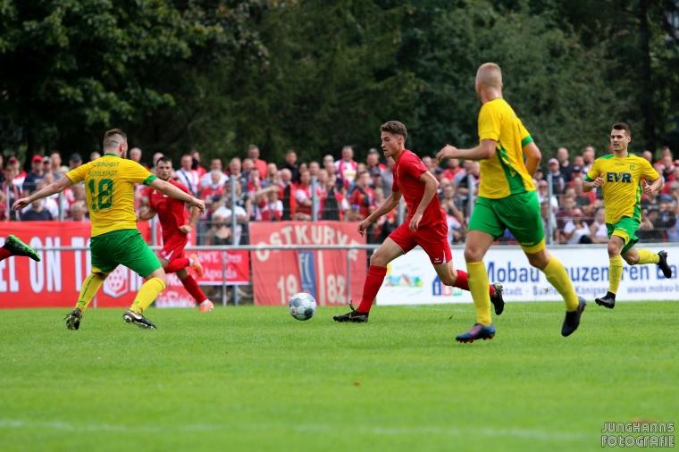 1. Spieltag 2020/21 FC Einheit Rudolstadt - FC Rot-Weiß Erfurt