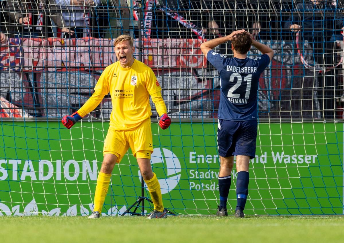 11. Spieltag 2019/20 SV Babelsberg - Rot-Weiß Erfurt