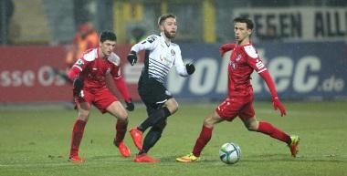 16/17 22. Sptg: VfR Aalen - FC Rot-Weiß Erfurt