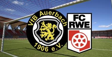 Vorbericht zum Nachholspiel gegen VfB Auerbach 1906