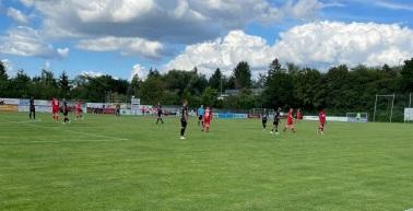 2:1 Testspielsieg beim 1. Hanauer FC
