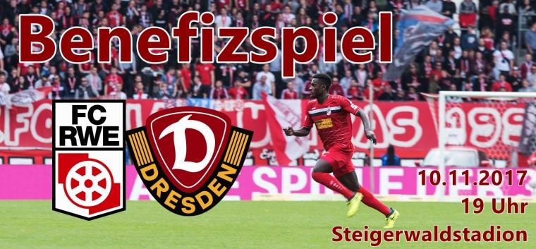 Benefizspiel Dynamo Dresden am 10.11.2017