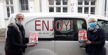 RWE, Bäckerei Bergmann und Enjoy-Catering spenden für soziale Einrichtungen