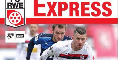 RWE-Express 12. Ausgabe 2017/18 - Spiel gegen den VfR Aalen