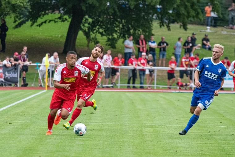 1. Pokalrunde 2019/20 SC Heiligenstadt - Rot-Weiß Erfurt