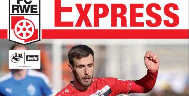 RWE-Express 13. Ausgabe 2017/18 - Spiel gegen den Karlsruher SC