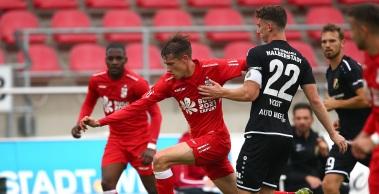 1:3 Niederlage im Testspiel gegen den VfB Germania Halberstadt