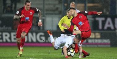 Trotz 2:4-Niederlage in Wiesbaden zeigt RWE-Mannschaft Charakter
