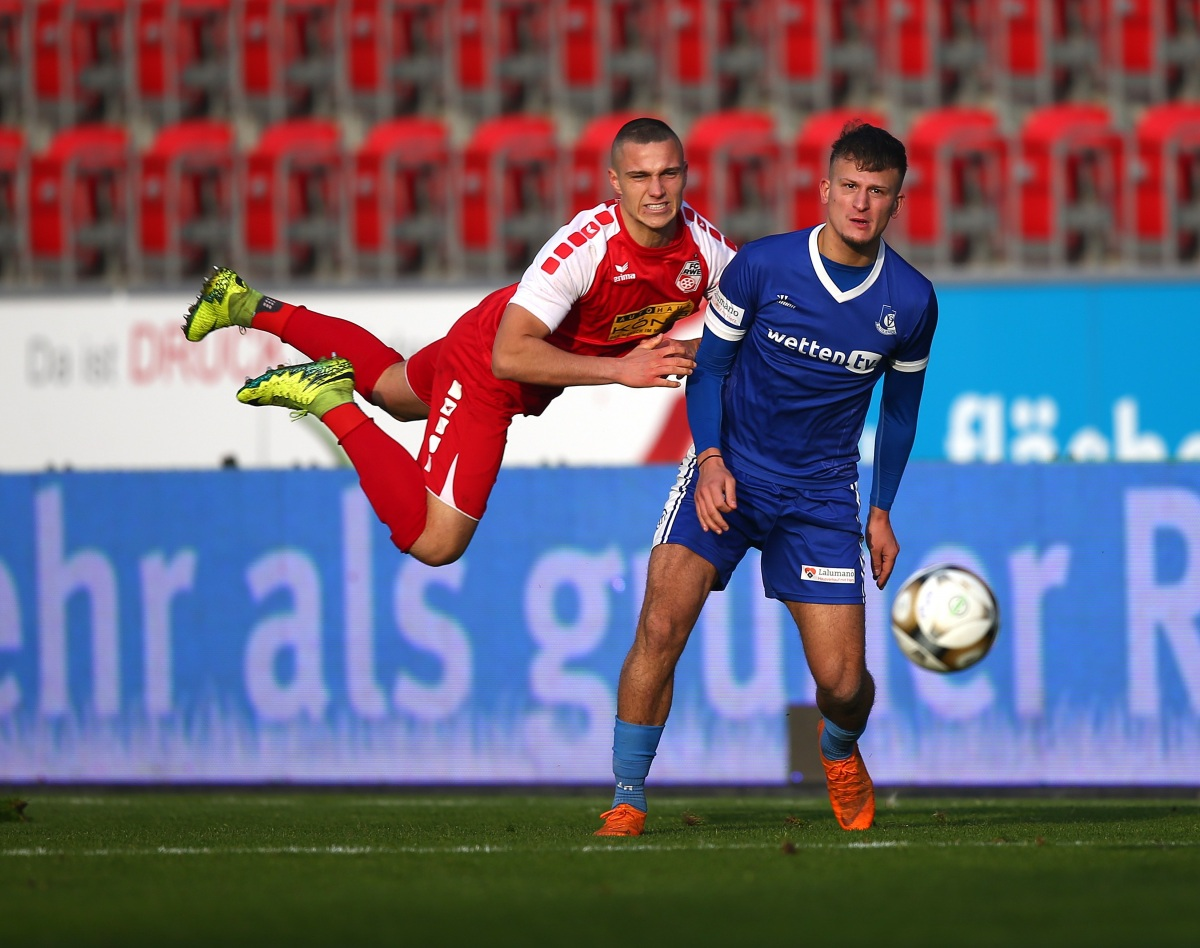 16. Spieltag 2019/20 FC Rot-Weiß Erfurt - VSG Altglienicke