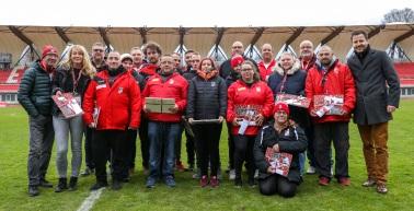 Der FC RWE sagt Danke ans Ehrenamt