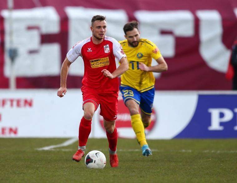 19. Spieltag 2019/20 1. FC Lok Leipzig - FC Rot-Weiß Erfurt