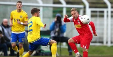 Rot-Weiß Erfurt unterliegt im letzten Spiel des Jahres