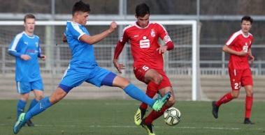 U19 mit Remis in Chemnitz, U17 unterliegt im Derby