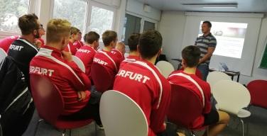 Prävention wird beim FC RWE schon im Nachwuchs groß geschrieben