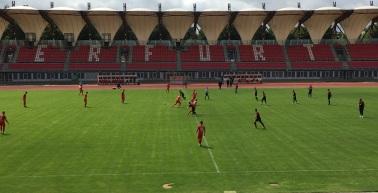 Überzeugender Testspielsieg gegen den Halleschen FC