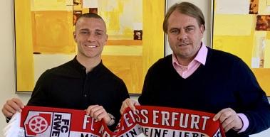Rot-Weiß Erfurt verpflichtet Lucas Surek