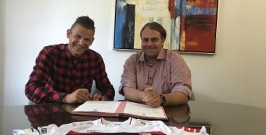 Marcel Kaffenberger bleibt Rot-Weißer!