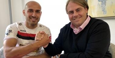 Velimir Jovanovic verstärkt die Offensive des FC Rot-Weiß Erfurt