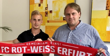 Tobias Hasse verstärkt den FC Rot-Weiß Erfurt