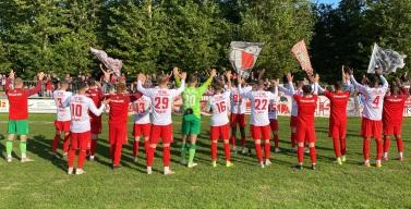 Sieg im Achtelfinale des Thüringenpokals
