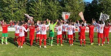 Zusammenfassung & Interviews zum Pokalachtelfinale gegen den SV Blau-Weiß Neustadt an der Orla