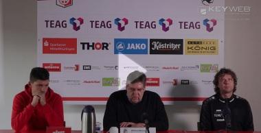 Pressekonferenz 2016/17: Holstein Kiel - FC Rot-Weiß Erfurt