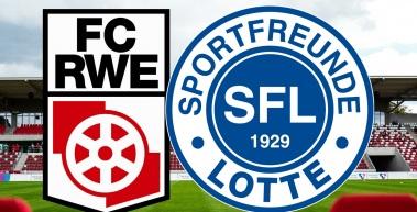 DFB-Pokalhelden aus Lotte in Erfurt zu Gast