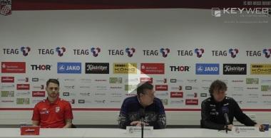 Pressekonferenz 2016/17: Sportfreunde Lotte - FC Rot-Weiß Erfurt
