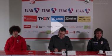 Pressekonferenz 2016/17: SC Preußen Münster - FC Rot-Weiß Erfurt