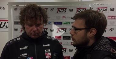 Stimmen nach dem Spiel 2016/17: SC Preußen Münster - FC Rot-Weiß Erfurt