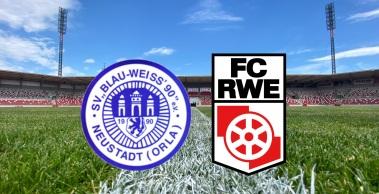Vorbericht zum Pokalachtelfinale beim SV Blau-Weiß Neustadt