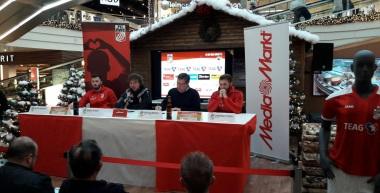 Pressekonferenz 2016/17: FC Rot-Weiß Erfurt - Chemnitzer FC