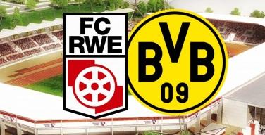 RW Erfurt empfängt am Sonntag Borussia Dortmund