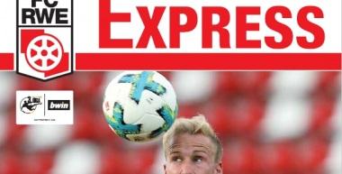 RWE-Express 01. Ausgabe 2017/18 - Spiel gegen Preußen Münster