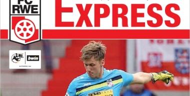 RWE-Express 07. Ausgabe 2017/18 - Spiel gegen den Halleschen FC