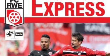 RWE-Express 08. Ausgabe 2017/18 - Spiel gegen die Sportfreunde Lotte