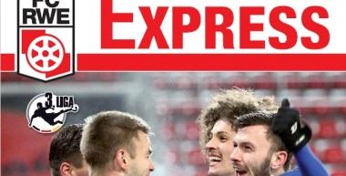 RWE-Express 09. Ausgabe 2016/17 - Spiel gegen den FC Hansa Rostock
