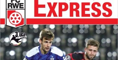 RWE-Express 10. Ausgabe 2016/17 - Spiel gegen den FSV Frankfurt
