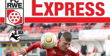 RWE-Express 12. Ausgabe 2016/17 - Spiel gegen den FSV Zwickau