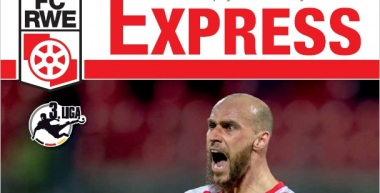 RWE-Express 14. Ausgabe 2016/17 - Spiel gegen den 1.FSV Mainz 05 II