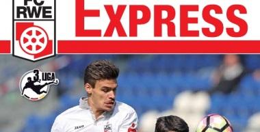 RWE-Express 16. Ausgabe 2016/17 - Spiel gegen Holstein Kiel