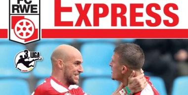 RWE-Express 18. Ausgabe 2016/17 - Spiel gegen Jahn Regensburg